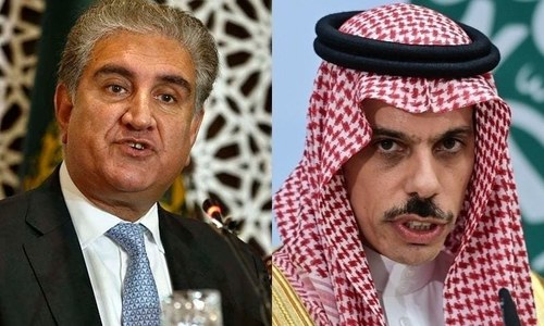 Saudi FM informs Qureshi about challenges of organising Hajj