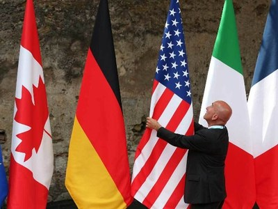 G7 leaders vow to end 'race to bottom' on taxes