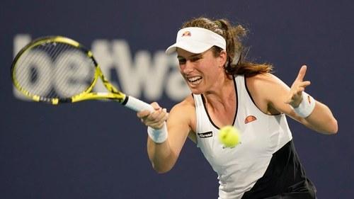 Britain's Konta wins Nottingham Open