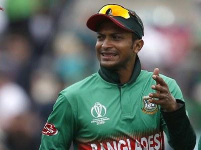 Bangladesh star Shakib suspended over umpire outburst