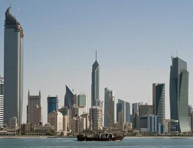Kuwait's economy contracted by 9.9pc