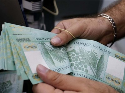 Lebanon currency hits new low