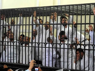 Egypt upholds death penalty for 12 Brotherhood members: judicial sources