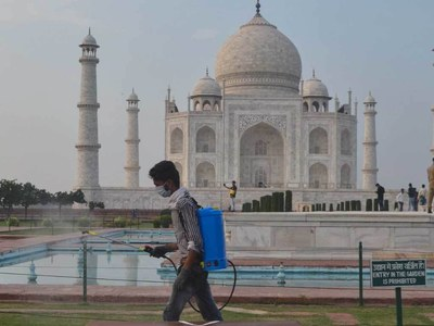 Taj Mahal to reopen as India eases Covid-19 restrictions