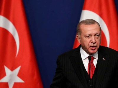 Erdogan says he discussed Turkey's Russian missiles with Biden