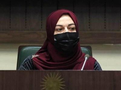 Iraqi Kurd woman speaker battles a man's world
