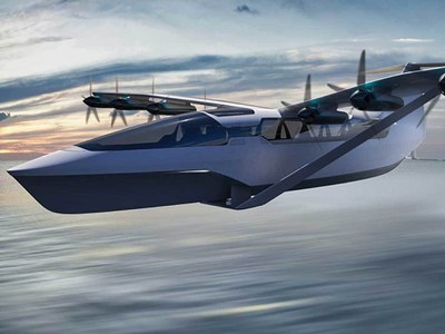 Company to build electric seaglider for UK-France trips