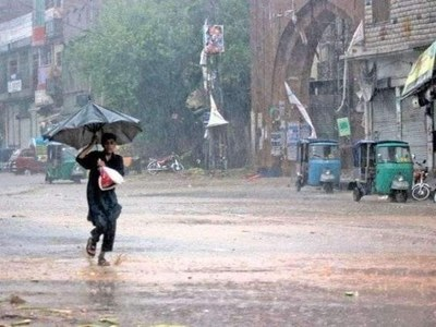 Parts of Sindh receive first monsoon rain