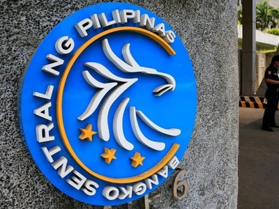 Philippine central bank sees wider current account surpluses in 2021,2022