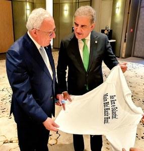 Qureshi reaffirms Pakistan's unwavering support for Palestine