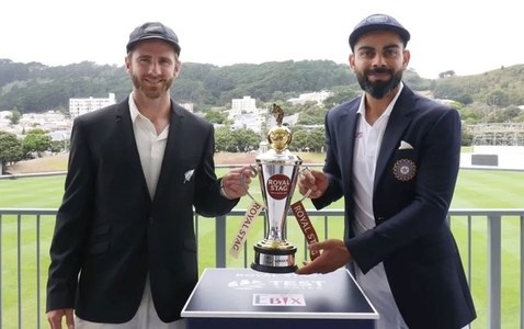 Rain ruins the party on day one of World Test Championship final