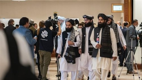 Afghan Taliban say committed to peace talks, want 'genuine Islamic system'