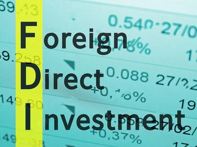 FDI – all eggs in China's basket