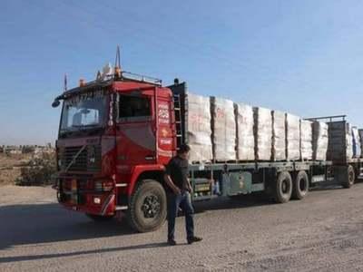 Exports resume from Gaza
