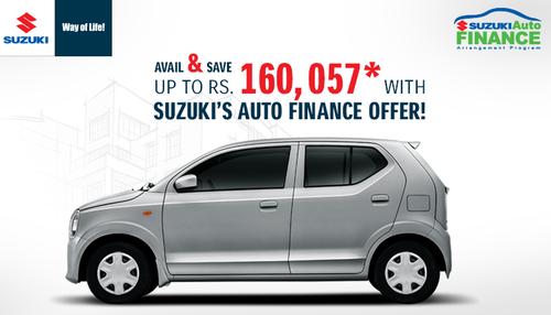 Pak Suzuki offers accessible car financing