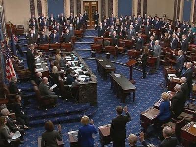 Senate Democrats' election reform bill blocked on party-line vote