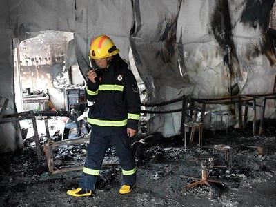18 killed, 16 injured in fire at China martial arts school