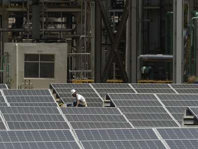 West Africa's largest solar plant opened