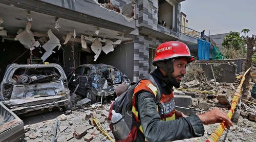 Police nab key suspect in Lahore bomb blast case
