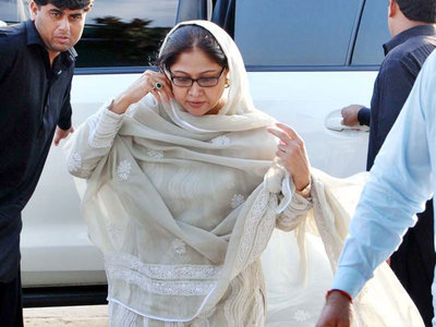 Disqualification case: Faryal files intra court appeal before IHC