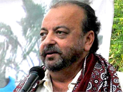 Opposition stages mock funeral of 'democracy' in Sindh PA