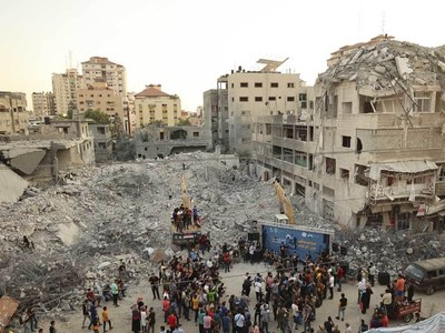 After Gaza war, lawyer builds Palestinian case files