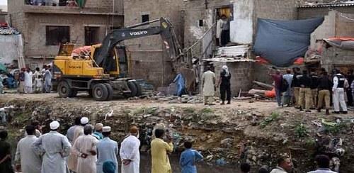 Sindh govt to allot plots to Gujjar, Orangi nullah affectees