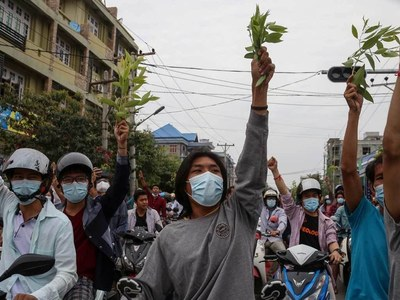Myanmar junta releases thousands of jailed anti-coup protesters