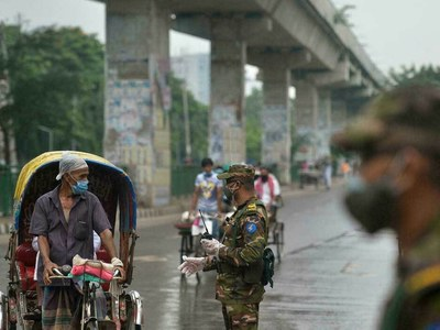Bangladesh lockdown as infections in Europe rise again