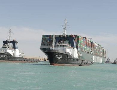 Megatanker that blocked Suez Canal to be released
