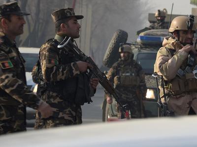 More than 1,000 Afghan troops flee into Tajikistan