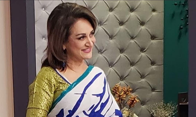 Bushra Ansari hits back at criticism for dancing at a wedding