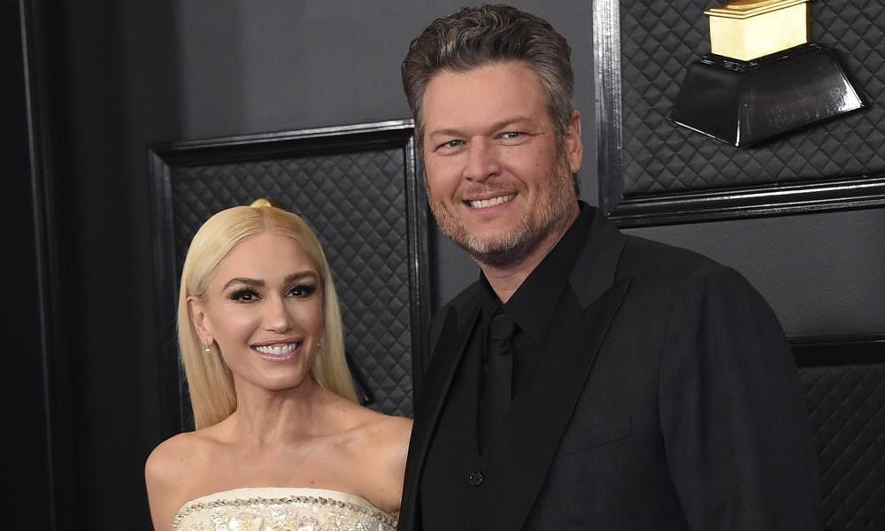 Gwen Stefani and Blake Shelton marry at home in an intimate ceremony