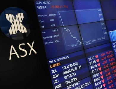 Australian, NZ shares lower