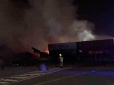 Dubai authorities probe port explosion that shook the city