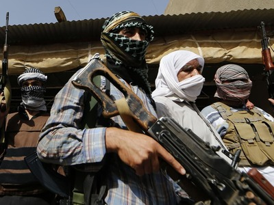 Afghan Taliban say capture key border crossing with Iran