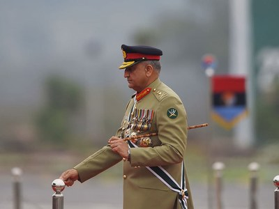 Covid-19 pandemic: COAS thanks Chinese envoy for 'unwavering' support