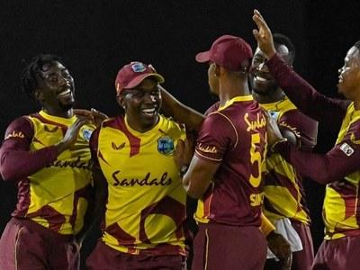 West Indies beat Australia in T20I series opener