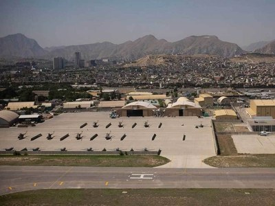 Afghanistan installs anti-missile system at Kabul airport