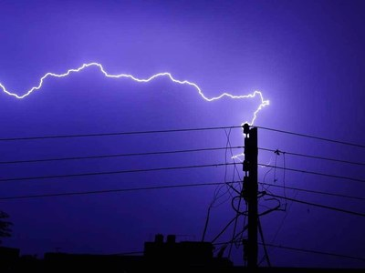 Lightning strikes kill more than 50 in India