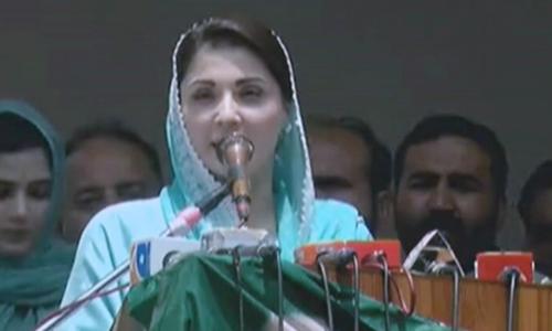 Individuals hatched 'propaganda' to oust Nawaz Sharif: Maryam