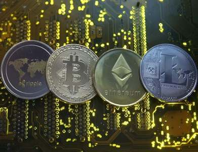 Cryptocurrency trading volumes slump 40pc in June