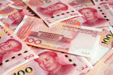Yuan near 1-week high as strong trade data ease economic slowdown worries