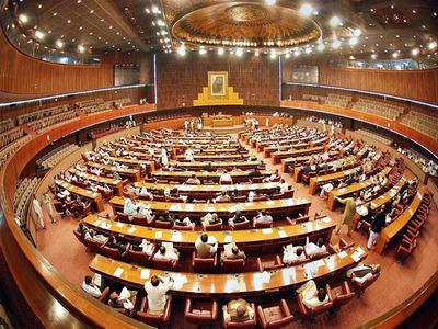 Absence of ministers irks NA deputy speaker