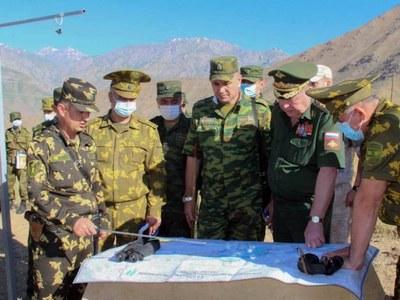 Russia holds military drills in Tajikistan amid Taliban offensive