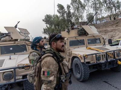 Taliban seize Chaman border crossing