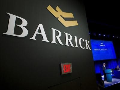 Barrick's second-quarter gold output falls 5.4%