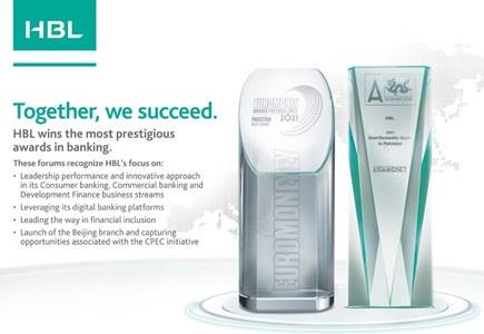 HBL wins Euromoney's 'Best Bank in Pakistan 2021' award