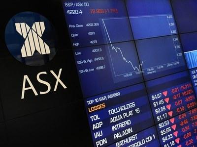 Australian, NZ shares down