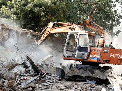 Demolition of Indian village stepped up despite UN protest